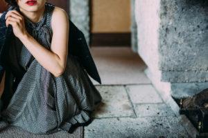 Drawer シルクプリーツスカート 画像